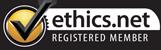 Ethics.net Proud Member (logo)